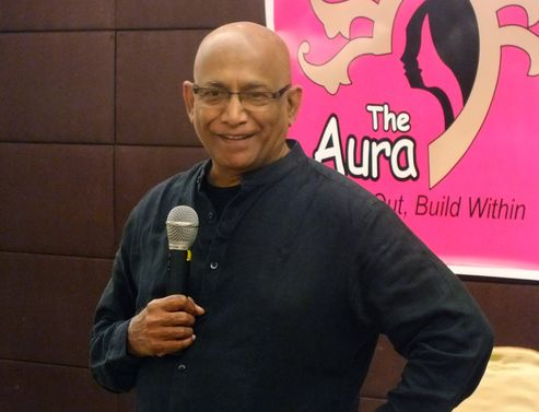 Mr. Raja Krishnamoorthy,Management Consultant, Inspirational Speaker and Actor